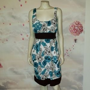 TABOO Floral Casual Dress, Size 2X